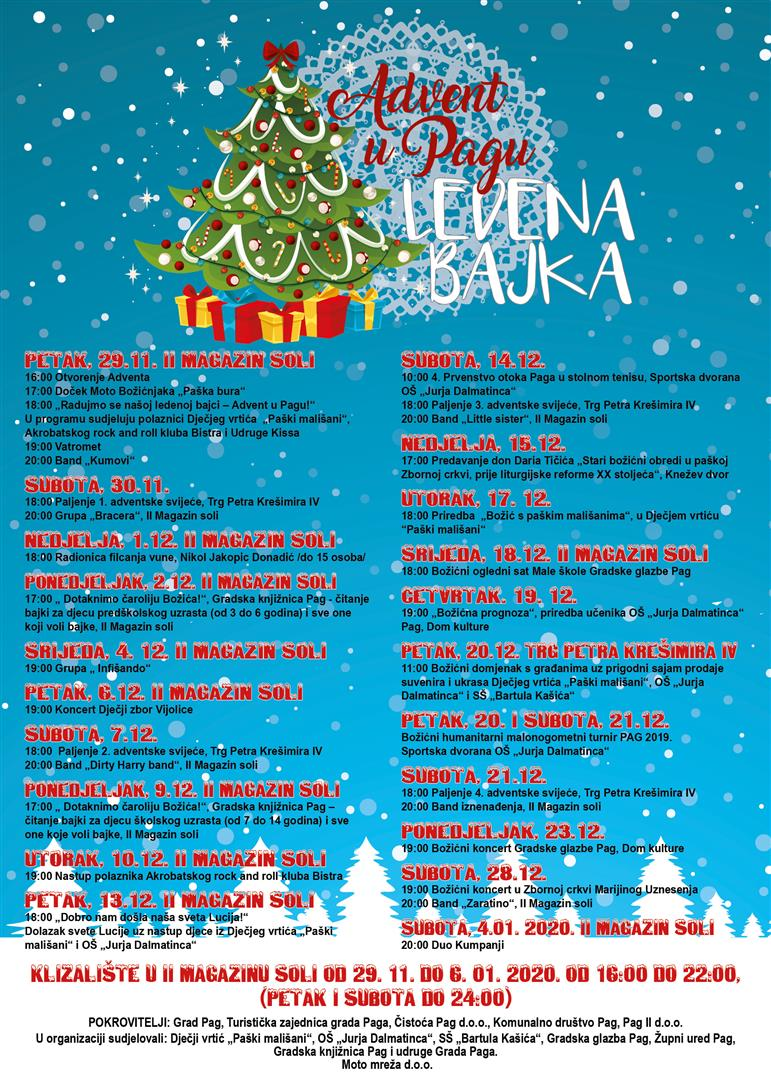 Advent program 2019